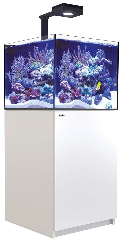 Red Sea Reefer 200 XL Deluxe Aquarium w/ ReefLED 90 Lights - 53 Gallon (White)