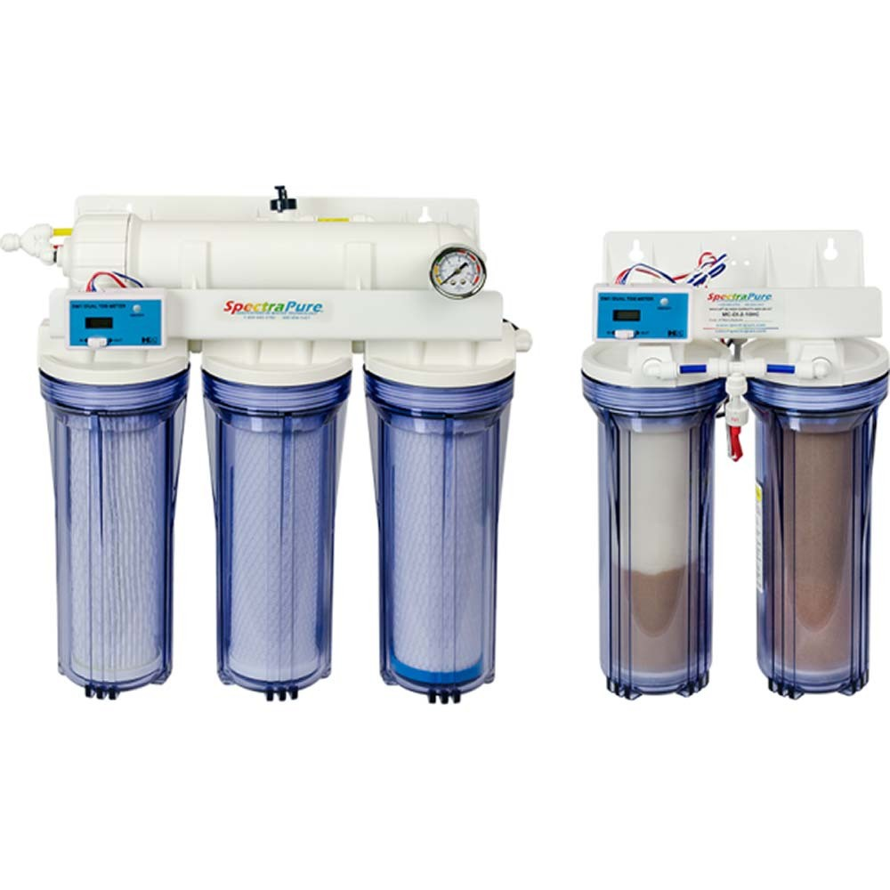 SpectraPure 6-Stage Chloramine Removal RO/DI System with SilicaBuster and MaxCap DI