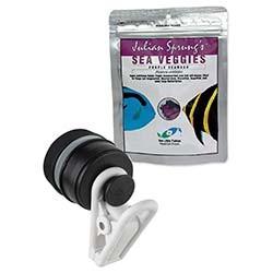 Two Little Fishies Julian Sprungs Veggie-Mag Feeding Clip Magnet & SeaVeggies Purple Seaweed 30 grams