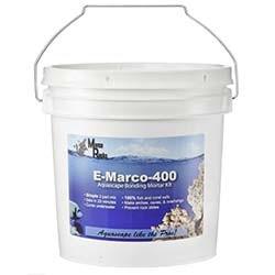 MarcoRocks E-Marco-400 Aquascaping Bonding Mortar Complete Kit - GREY