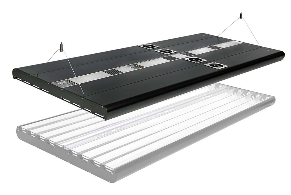 ATI Powermodule 4X24W T5 1X75W LED Hybrid Light Fixture with Wi-Fi Controller - 24 inch