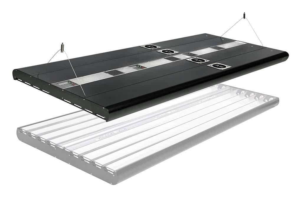 ATI Powermodule 8X39W T5 2X75W LED Hybrid Light Fixture with Wi-Fi Controller - 36 inch