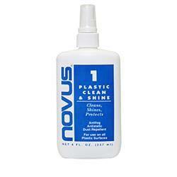 NOVUS No. 1 - Plastic Clean and Shine - 8 oz.