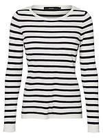 Pieces naisten raidallinen 3 4 hihainen paita netistä  FarkkuStore.fi  d61ac2e3a8