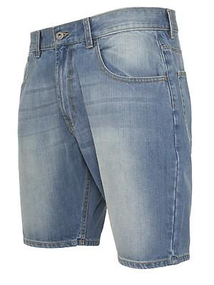 8c64dd878cbe Tom Tailor Denim Herren Jeans Bermuda Atwood - Regular Fit - Blau ...