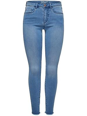 29201a7e Only Damen Jeans onlROYAL REG SK ANK JEANS BJ11505 - Skinny Fit - Blau -  Medium