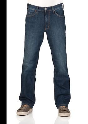 Mustang Herren Jeans Tramper - Straight Fit - Blau - Dark Denim Blue 881 c10dafc3a2