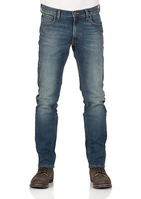 bb18decca9b4 Lee Herren Jeans Daren Zip Fly - Regular Fit - Blau - Blue Worn - Zip
