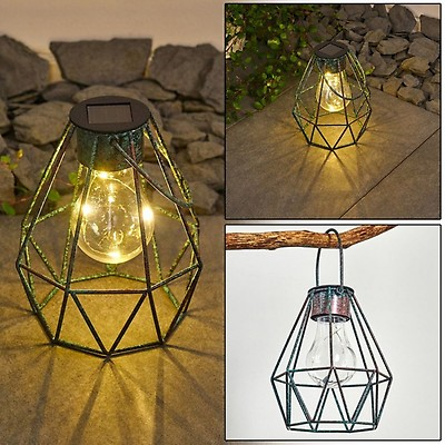 Yonkers Solarleuchte LED Rostfarben H3332047 | lampe shop.at