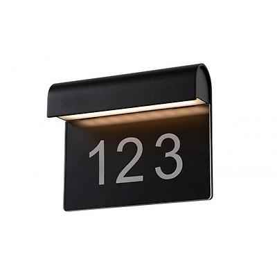 7655 D'adresse Noir Éclairé Konstsmide Modena Numéro 750 wvdXSqSz