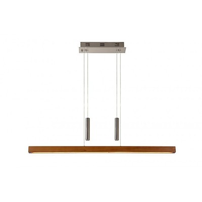 Suspension Badia Bois 215 40 Clair Luce Led Fabas 3383 Yb7yvf6Igm