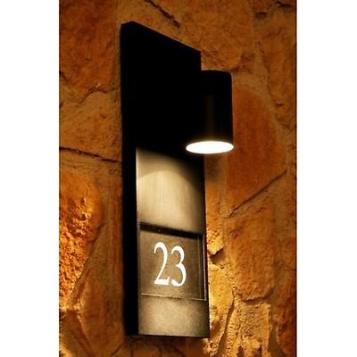 Muro in alluminio Lampada Modena e27 NERO ESTERNO Konstsmide 7302-750