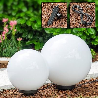 Lampy Ogrodowe Kule 3 Szt Biały P2282sp2282m Swiatlampypl
