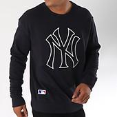 Era Logo York 11863702 Team New Yankees Crewneck Sweat Vert vwIxdxzRq