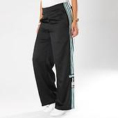 adidas - Pantalon Jogging Avec Bandes Femme Original DH4602 Noir Bl.. 7d748979331