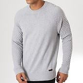 Pepe Pull Chiné Abbey Jeans Gris AB4rAq