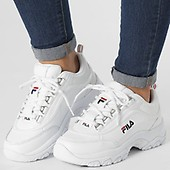 02fbcc302e2 Fila - Baskets Femme Strada Low 1010620 25Y Black ...