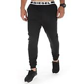 G Star Pantalon Jogging A Bandes Alchesai D13304 A650 Noir