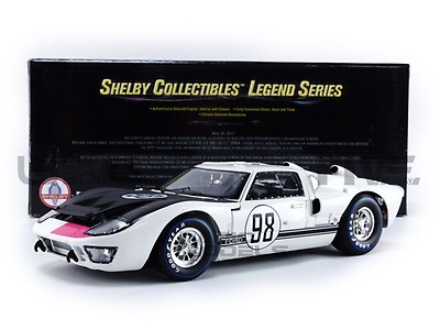 LE MANS 1966 SHELBY COLLECTIBLES FORD GT 40 MK II SHELBY417 1//18