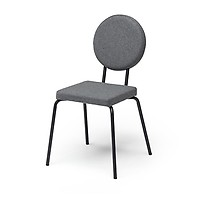 Chaise A Assise Carree Et Dossier Rond Option