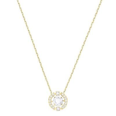 6c3db246882f2 Swarovski Sparkling Dance White Crystal & Rose Necklace