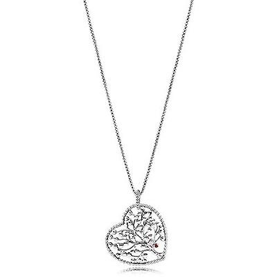 1e87ba192 PANDORA Silver United Regal Hearts Necklace