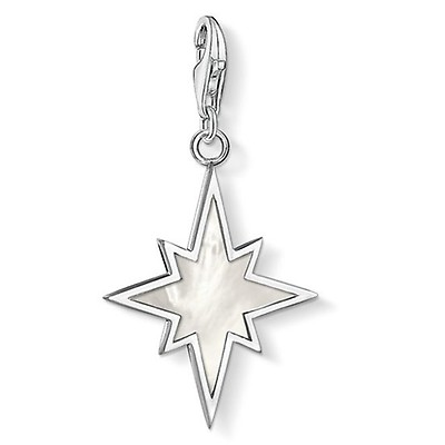 9a9de724e Thomas Sabo Yellow Gold Mother-of-Pearl Star Charm