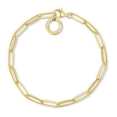 8b6111d3d Thomas Sabo 18.5cm Yellow Gold Charm Bracelet