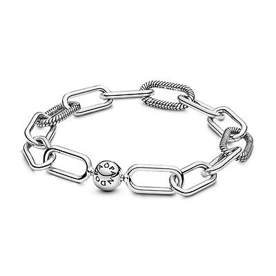 Pandora Me Link Chain Charm Bracelet In Silver
