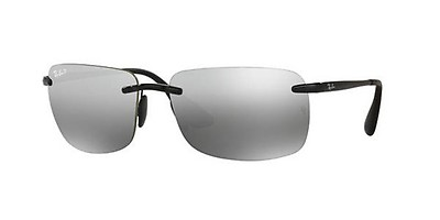 39dc5c3b221 Ray-Ban RB 3542 029 5J 63 Grises Rectangulares - Gafas Ray-Ban