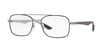 1c72d746b57a6 Ray-Ban RX 6389 2501 Silver 55 Plateadas Ovaladas - Gafas Ray-Ban