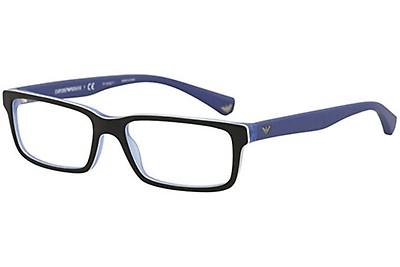 e428c14b9c Emporio 3133/G 53 Azules y Negras Cuadradas - Gafas Emporio Armani