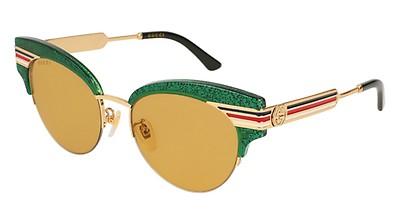 Gucci 0258S S 56 Havana Ovaladas online al mejor precio 0027f6b437c1