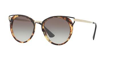 Prada 62SS S 53 Grises Redondas al mejor precio - Gafas Prada 4411d57f000