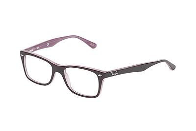 cbcfff35a9a68 Ray-Ban RX 5114 2034 52 Negras Rectangulares - Gafas Ray-Ban