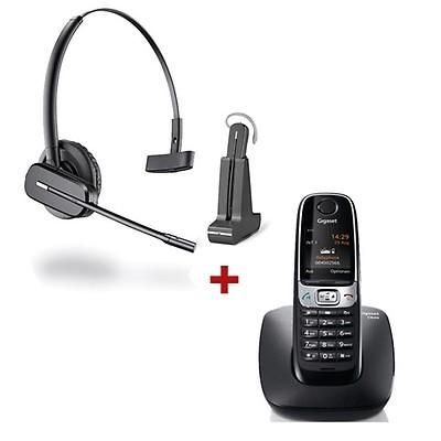 Telefono fisso Panasonic KX-TS880 + Cuffia Panasonic RP-TCA 400 ... b5b918e0f385