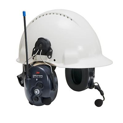 Cuffia antirumore 3M Peltor Litecom WS Bluetooth - Elmetto 74431c29c2aa