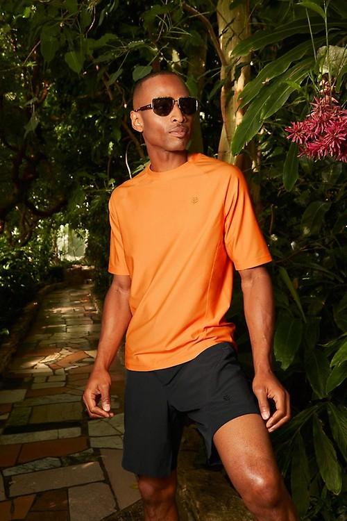 Mens Hightide Long Sleeve Swim Shirt Coolibar UPF 50 Sun Protective