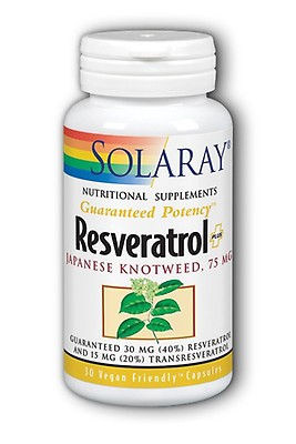 Buy Solgar Resveratrol With Red Wine Extract 250mg 30 Softgels