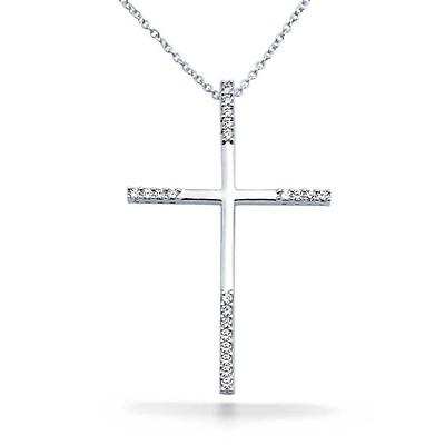 ad305483fbca0 Infinity Ribbon Twist Cross Pendant Necklace For Women Plain ...
