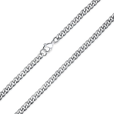 b9aa7222f5e2f Very Heavy Square Rolo Box Chain Link For Men Solid 300 Gauge ...