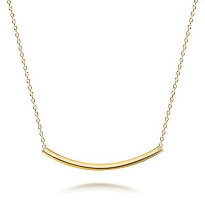 5d37e7dc58814 Basic Simple Slider Choker V Shape Collar Necklace For Women Flat ...