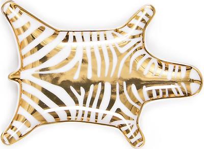 Jonathan Adler Zebra Bath Mat Turquoise Turkis Badematte