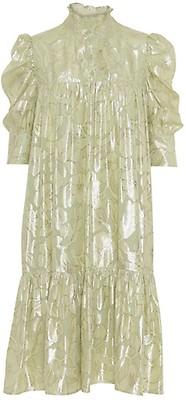 HELMUT LANG Raw Detail lilla kjole til dame