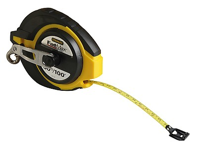 STA033897 Width 32mm Stanley Tools FatMax Pro Pocket Tape 10m Metric only