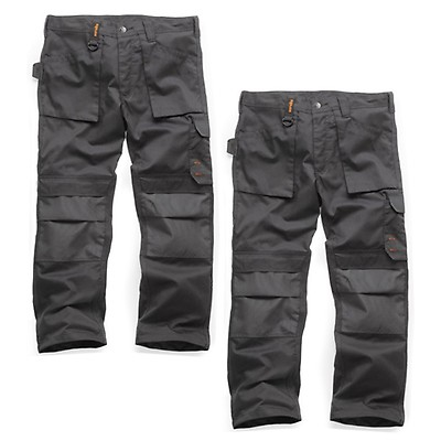 Sizes: 28in-40in Waist Scruffs Trade Work Shorts Black//Slate Grey//Ink Blue with Multiple Pockets Mens Work Combat Cargo