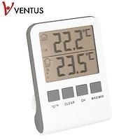 Köp Inne Utetermometer VENTUS WA110 Digital billigt online
