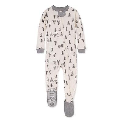 Burts Bees Baby Baby Girls Pajamas 100/% Organic Cotton Wild Horses 24 Months Zip Front Non-Slip Footed Sleeper PJs