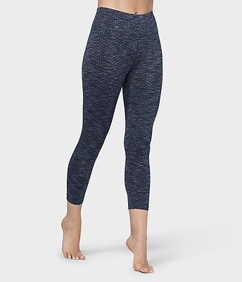 12179b555457 Essential Cropped Legging - Indigo Jacquard