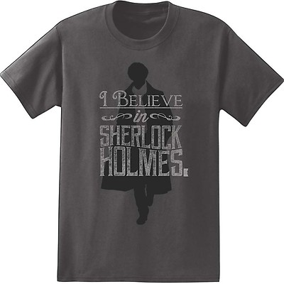 3325ea5fb858 Sherlock  I Believe in Sherlock T-Shirt